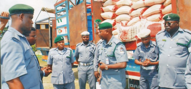 Image result for Nigeria Customs warns smugglers, impounds goods in Imo